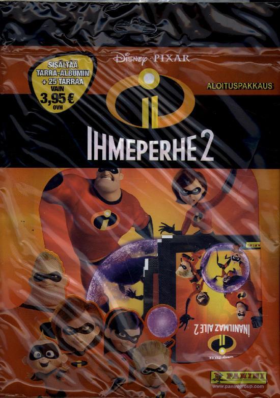 The Incredibles -aloituspakkaus (tarrat) Ihmeperhe 2 1/2018