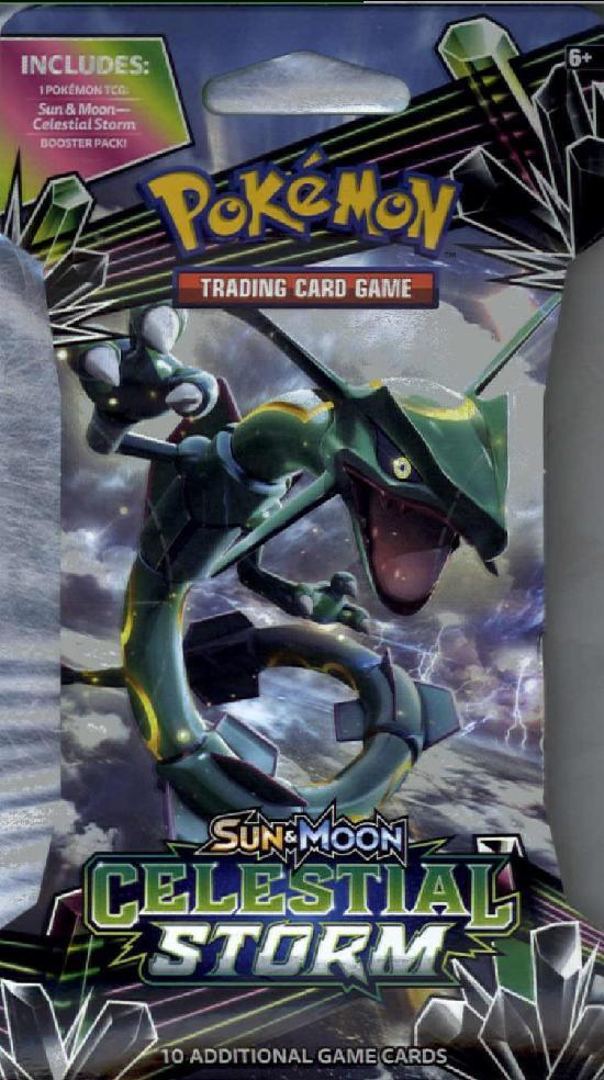 Pokemon Sun & Moon Celestial Storm -keräilykortit 1/2018