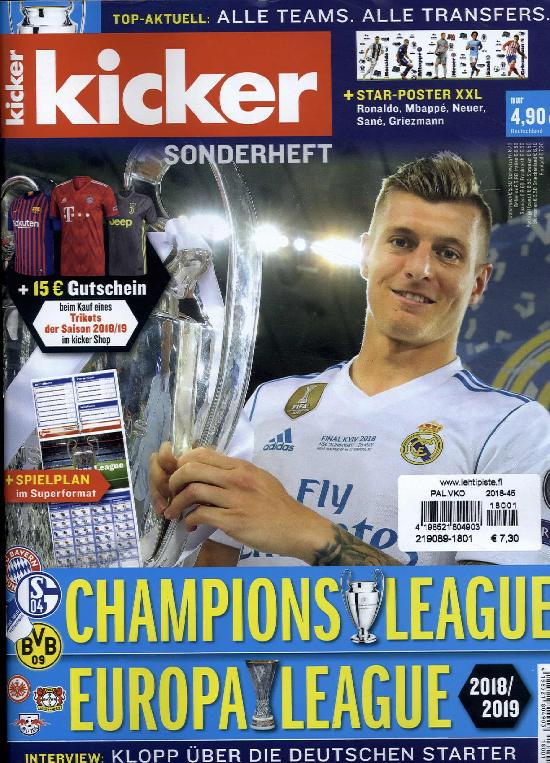 Kicker SH Champions League