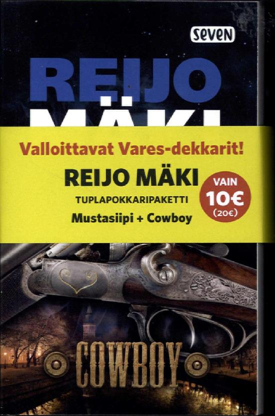 Mäki, Reijo: Cowboy & Mustasiipi (Tuplapaketti)