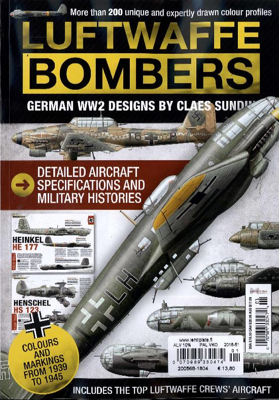 History Bookazines (Morton) Luftwaffe Attack Bombers 2018