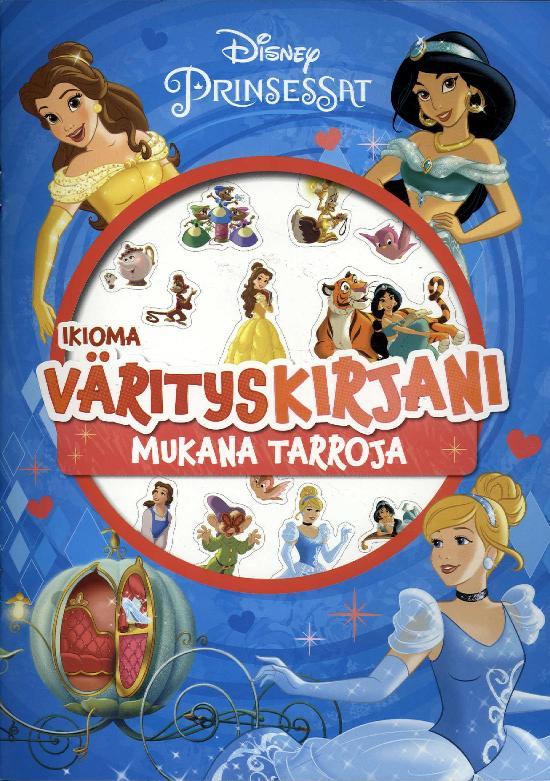 Disneyn Prinsessat Ikioma värityskirjani