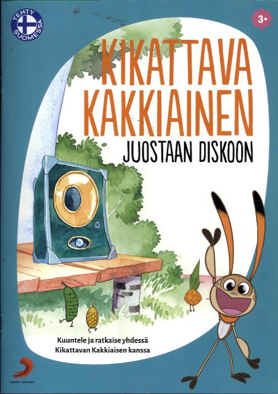 Kikattava Kakkiainen lehti + cd DJ Kakkiainen:Juostaan diskoon 1 2018