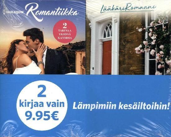 Harlequin Romantiikka Tuplapakkaus 30/2019