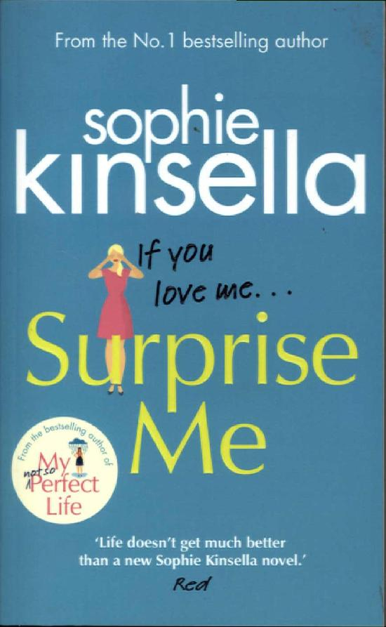 Kinsella, Sophie: Surprise Me