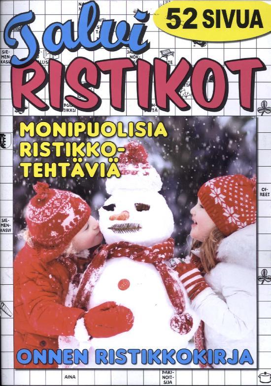 Onnen Ristikkokirja Talviristikot 1/2019