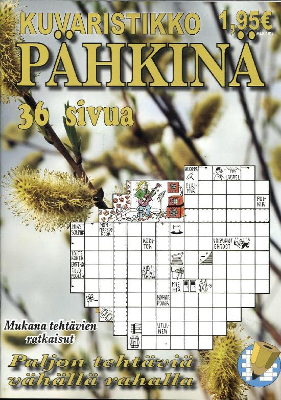Kuvaristikko Pähkinä 2 / 2019