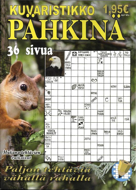 Kuvaristikko Pähkinä 3/2019