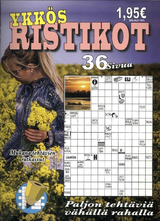 Ykkös Ristikot 2 / 2019