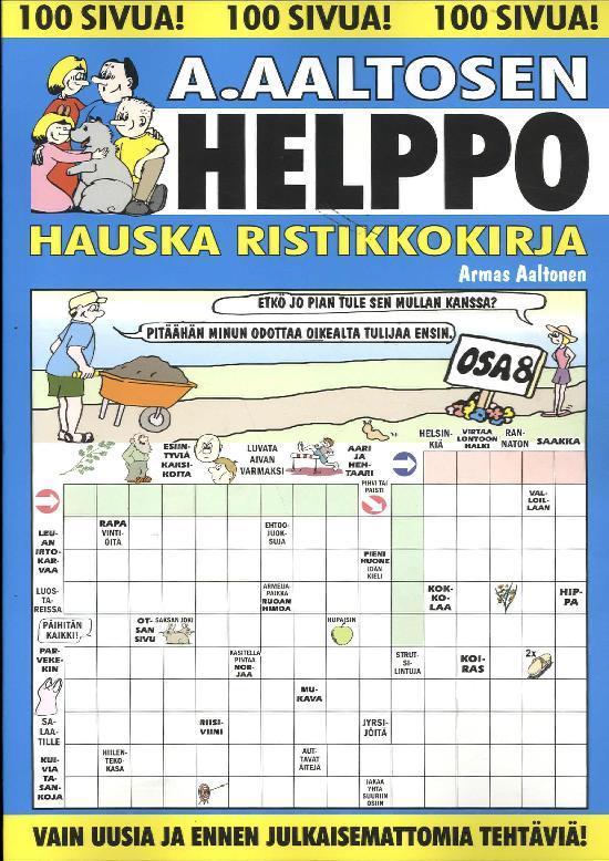 A.Aaltosen Helppo & Hauska Ristikkokirja Osa 8 2019