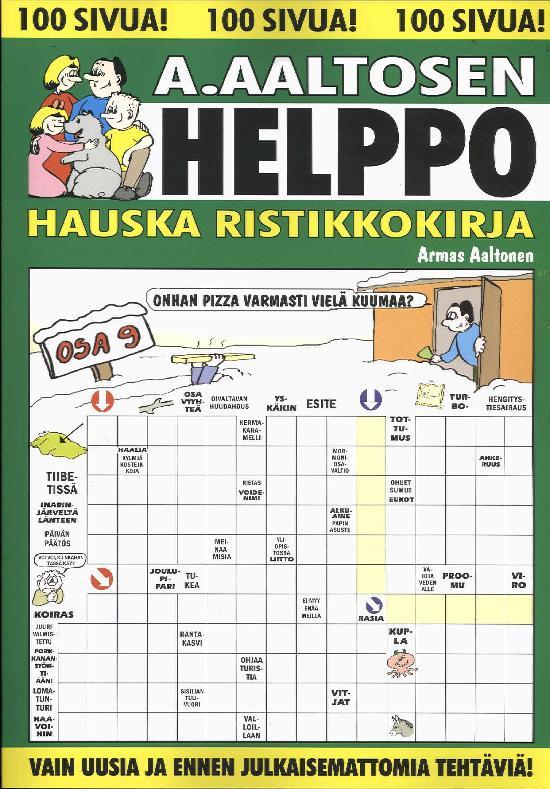 A.Aaltosen Helppo & Hauska Ristikkokirja Osa 9 2019