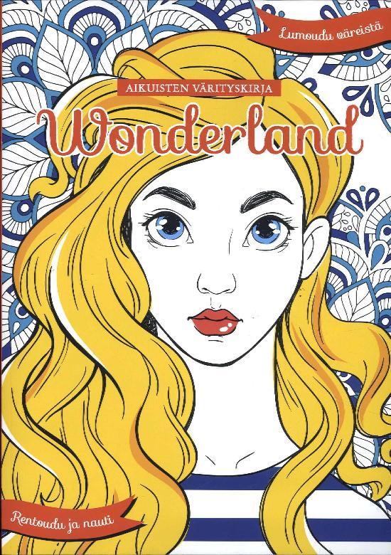 Aikuisten värityskirja Wonderland Osa 14 1/2019