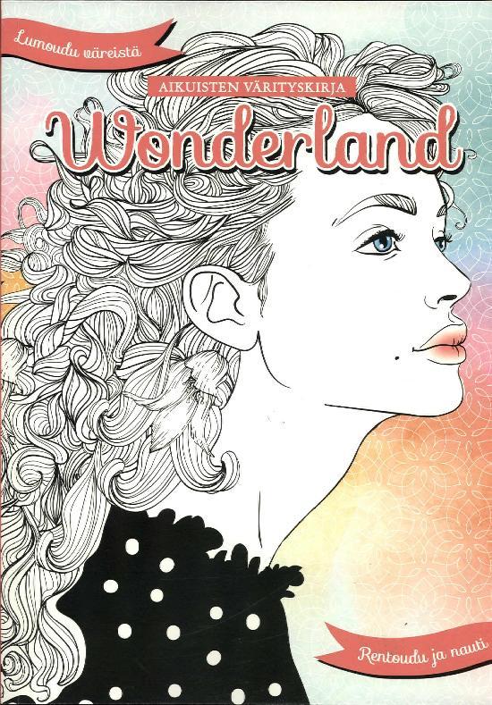 Aikuisten värityskirja Wonderland Osa 16 2019 1903