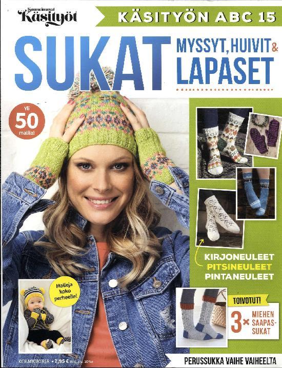 Kauneimmat Käsityöt ABC Sukat, myssyt, huivit & lapaset 3/2019