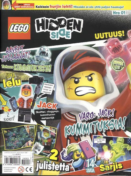 Lego Extra LEGO Hidden Side 1 2/2019