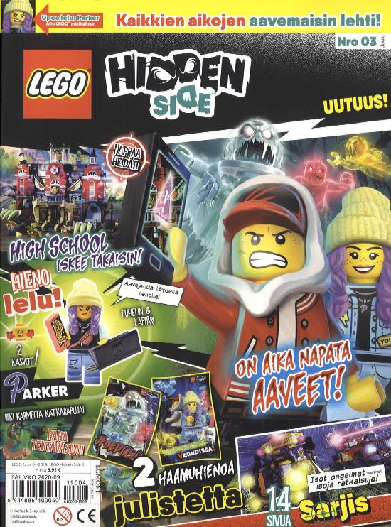 Lego Extra 04-2019 Hidden Side 3