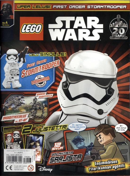 Lego Special LEGO Star Wars Nro 4 Marraskuu 2019