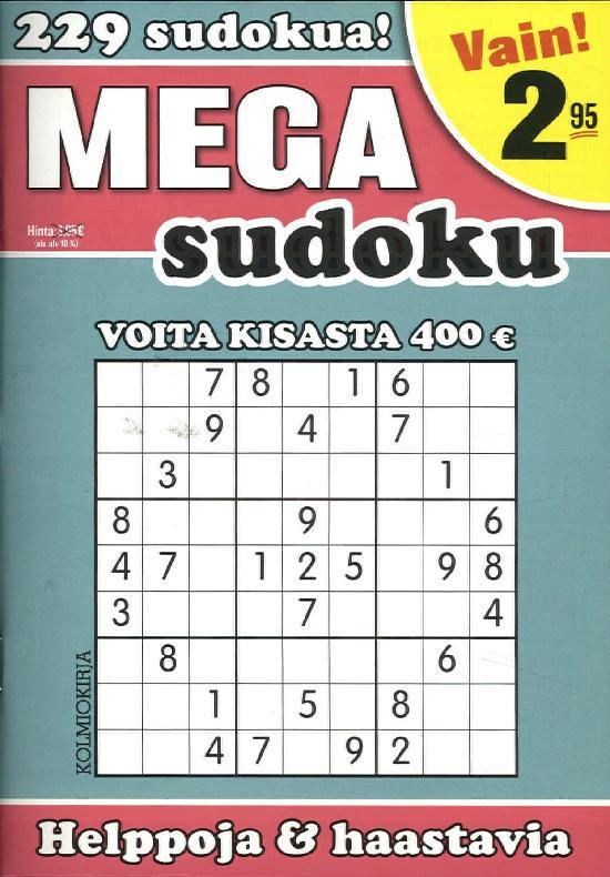 Mega-Sudoku 1/2019