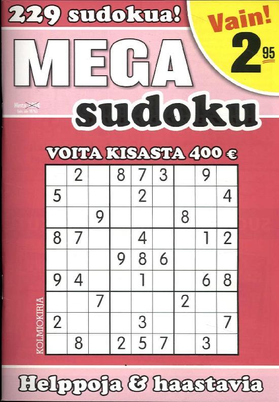 Mega-Sudoku 2/2019