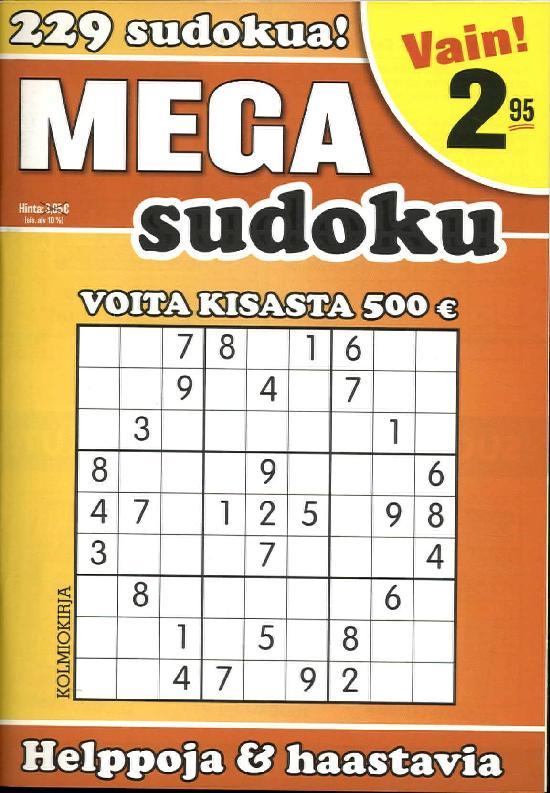 Mega-Sudoku 3/2019