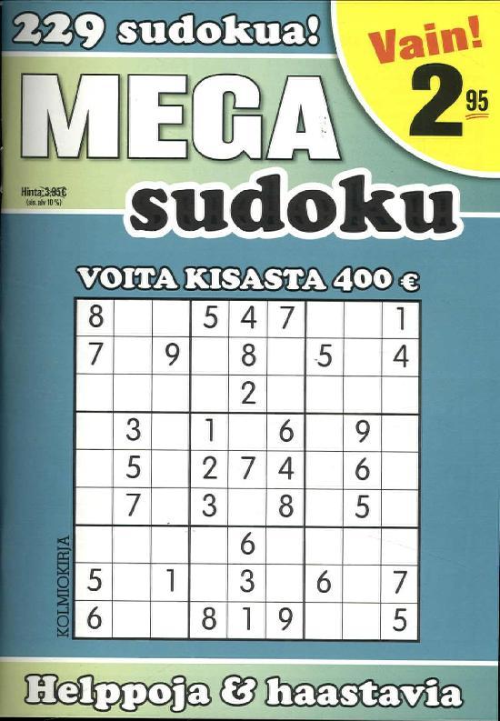 Mega-Sudoku 5/2019