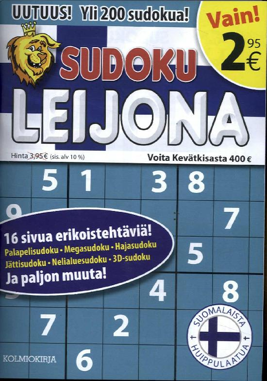 Sudoku Leijona 1/2019