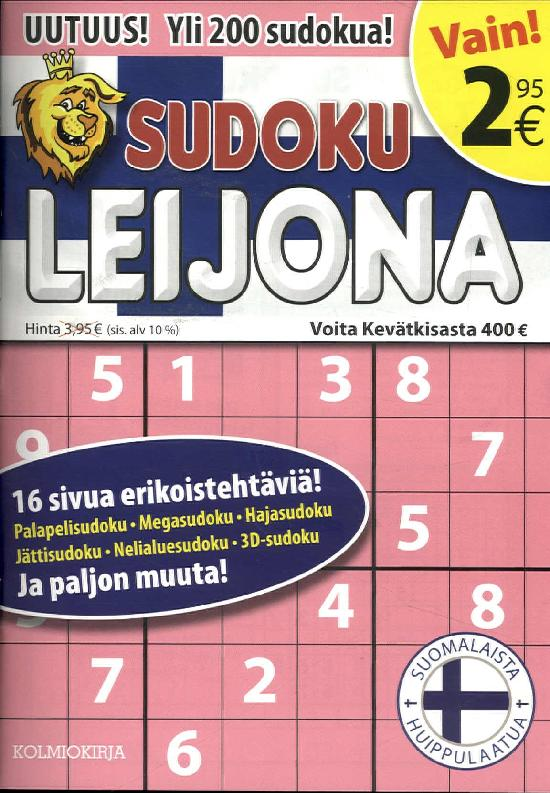 Sudoku Leijona 2/2019
