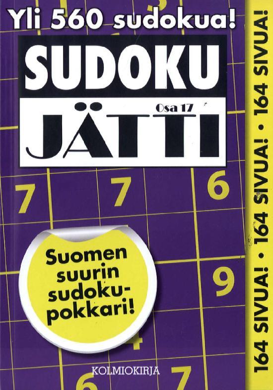 Sudoku-Jätti Osa 17 1/2019