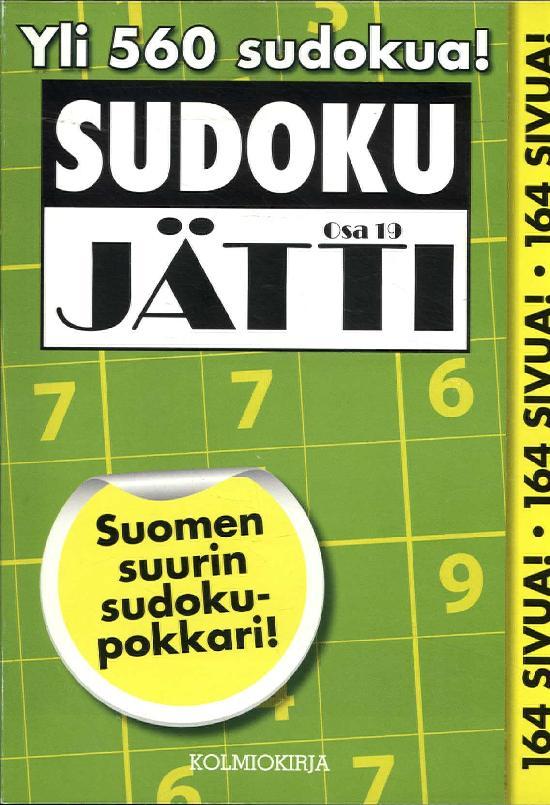 Sudoku-Jätti Osa 19 3/2019