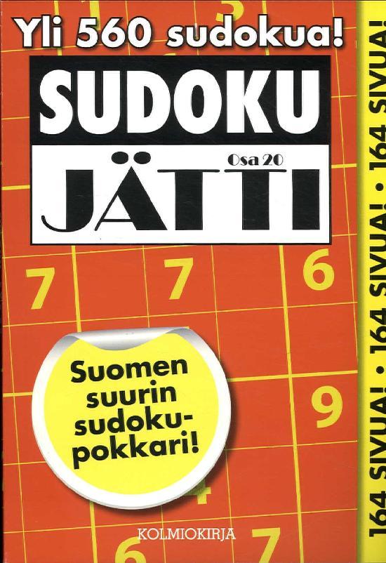 Sudoku-Jätti Osa 20 4/2019