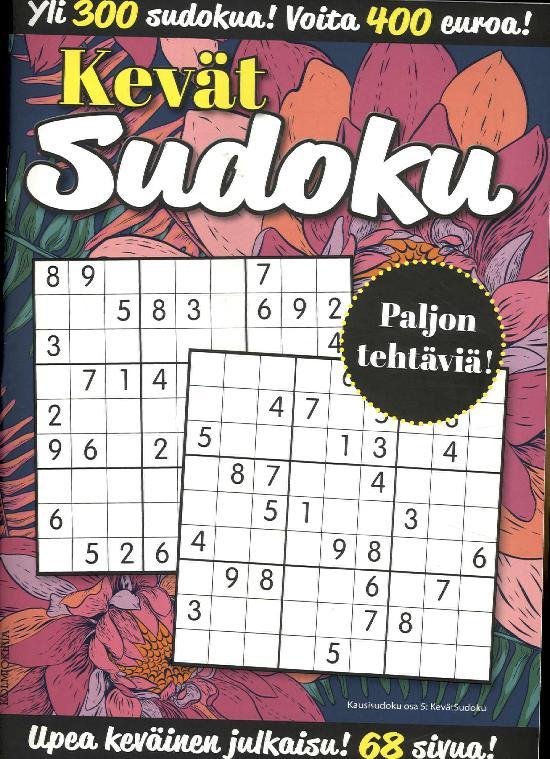 KausiSudoku Kevät Sudoku 1/2019