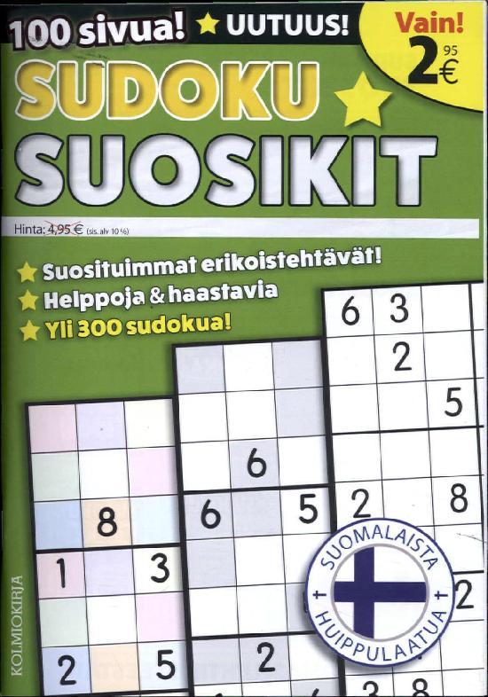 Sudoku Suosikit 1/2019