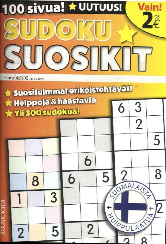Sudoku Suosikit 5/2019