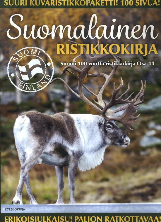 Suomi 100 Vuotta Ristikkokirja Osa 11 2019