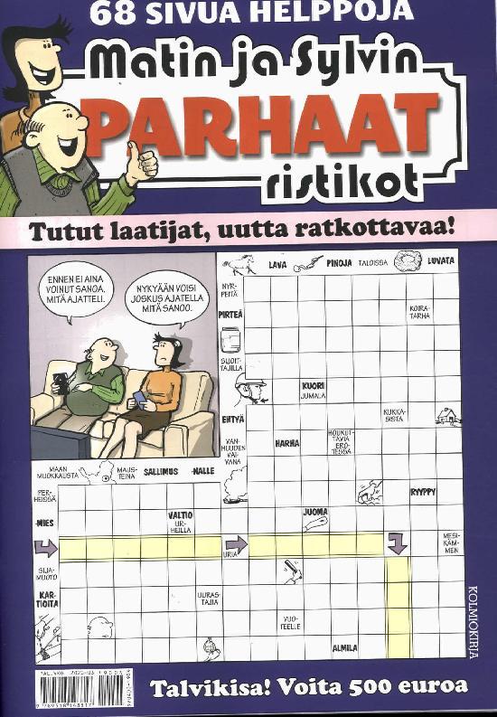 Matin ja Sylvin Parhaat Ristikot 4/2019