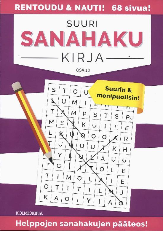 Suuri Sanahakukirja OSA 18 1/2019