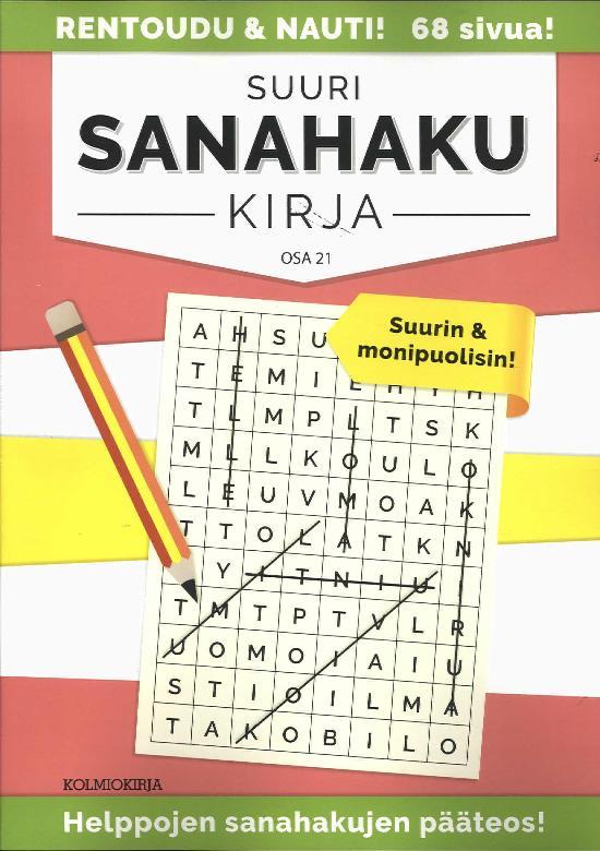 Suuri Sanahakukirja OSA 21 4/2019