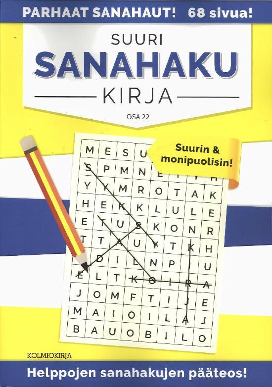 Suuri Sanahakukirja OSA 22 5/2019