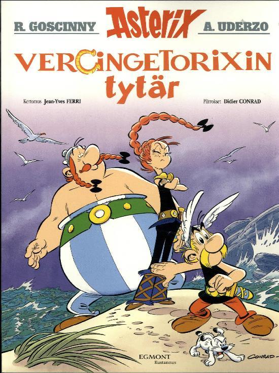 Asterix -sarjakuva-albumi Vercingetorixin tytär