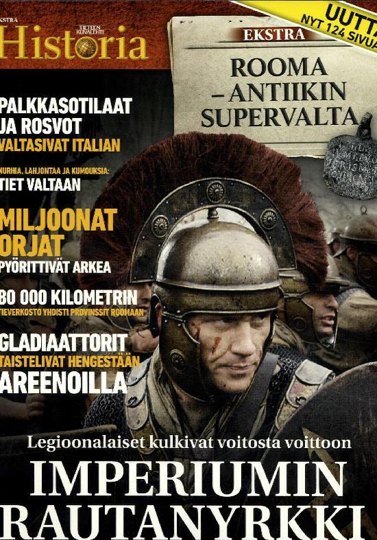 Tieteen Kuvalehti Historia Extra Rooma-antiikin supervalta 3/2019