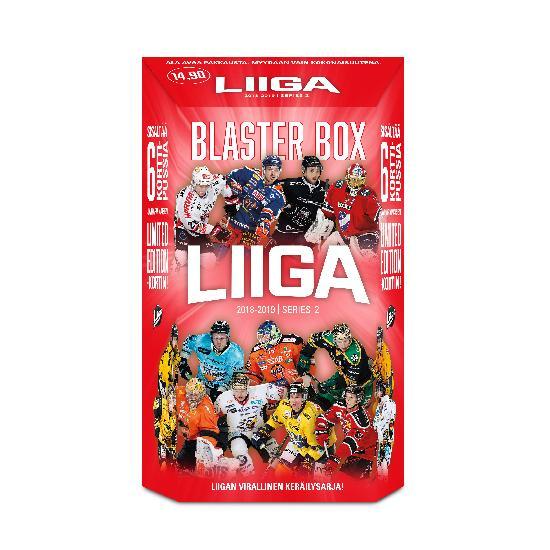 Cardset Liigakortit 2. sarja Blaster Box 2018-2019