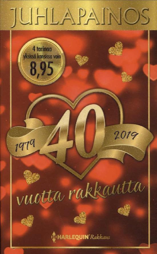 Harlequin Juhlapainos 40 vuotta rakkautta 4/2019