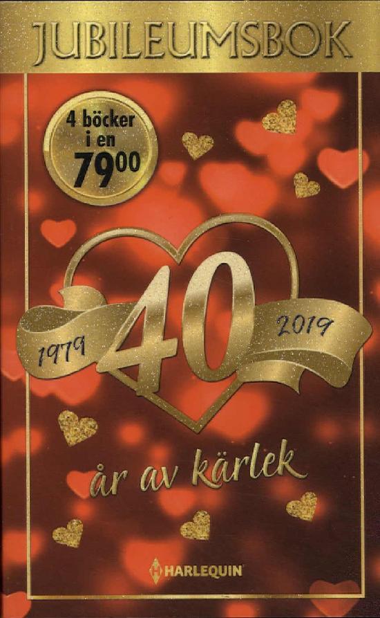 Harlequin Jubileumsutgåva (Swe) 40 år av kärlek