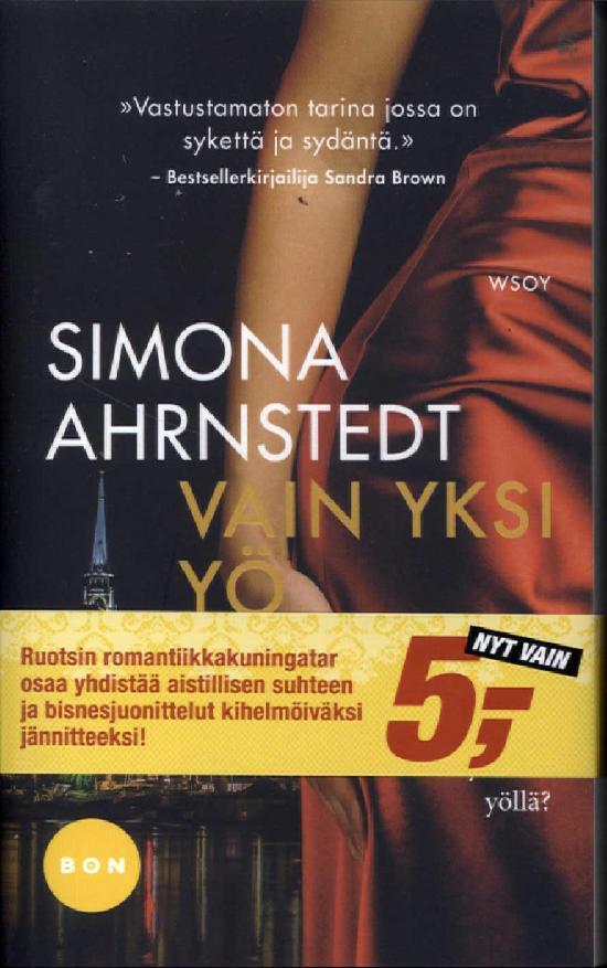 Ahrnsted, Simona: Vain yksi yö