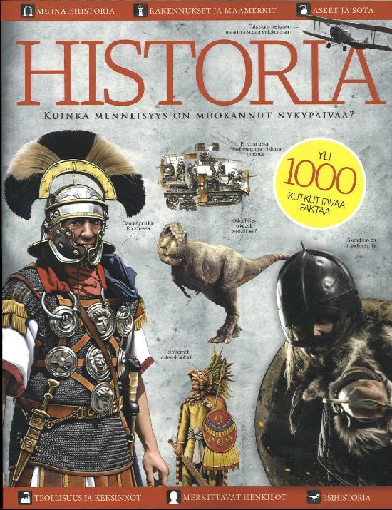 Historia Bookazine Kuinka menneisyys on muokannut nykypäivää?