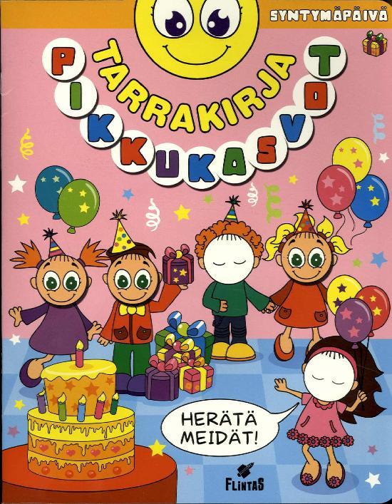 Pikku Kasvot Tarrakirja 4 2019 Syntymäpäivä