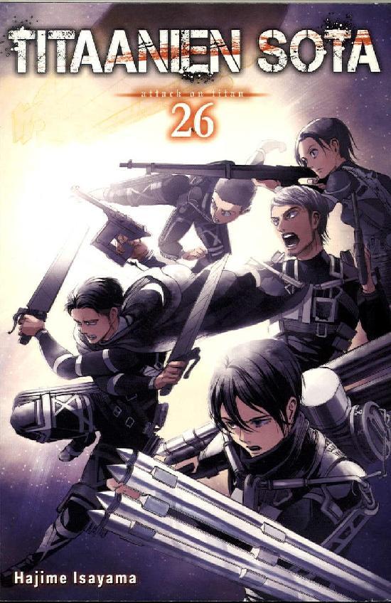Titaanien sota -sarjakuvakirja Osa 26/27+ Voittajat 2019