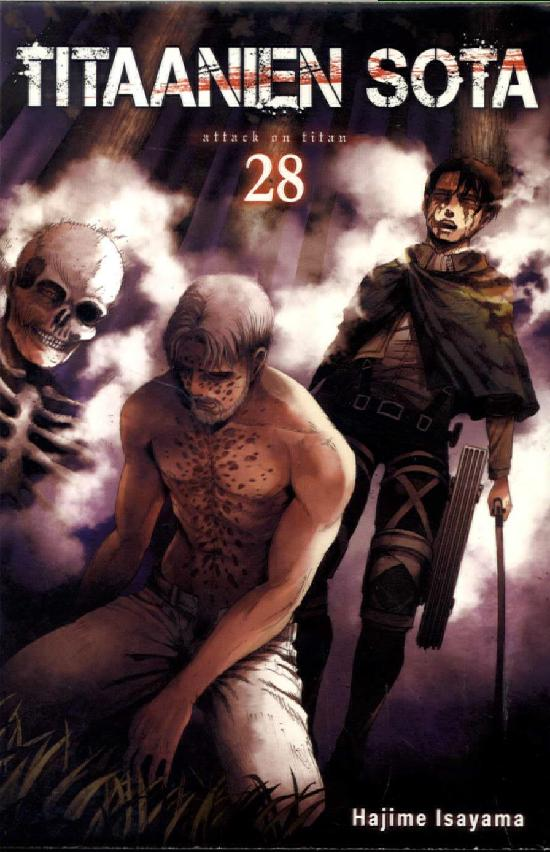 Titaanien sota -sarjakuvakirja Osa 28/29+ 2019