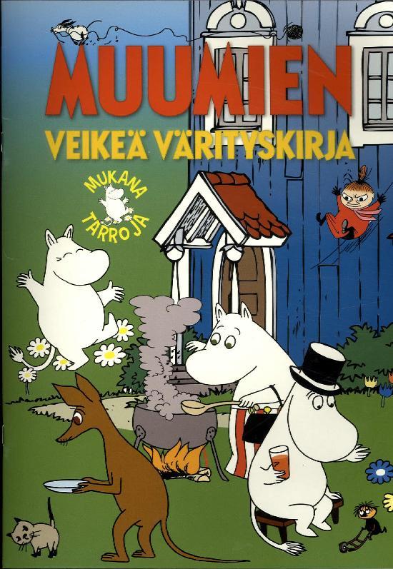 Tarrakirja (Egmont) Muumien veikeä värityskirja 5/2019