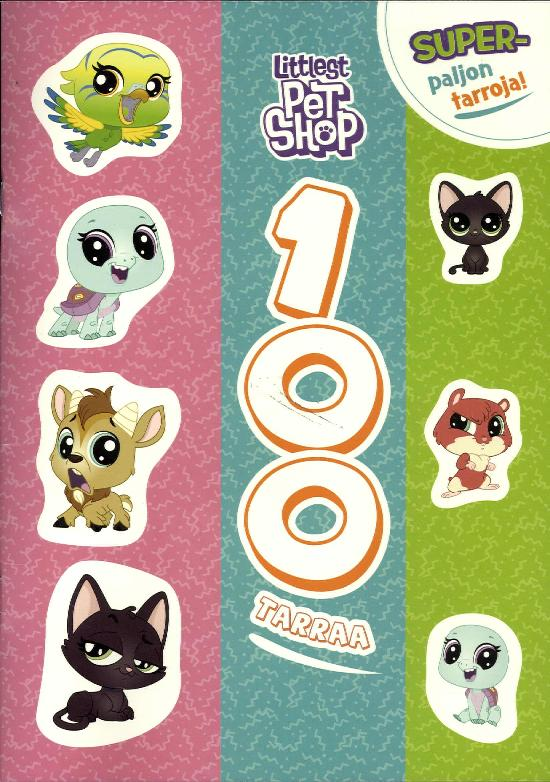 Tarrakirja (Egmont) Littlest PetShop 100 Tarraa
